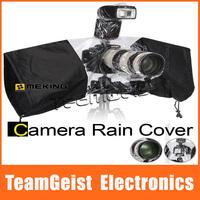 20pcs/lot NEW Arrival Digital Camera Rainwear SLRS Rain cover screen raincoat WaterProof camera Encosure rain set Free Shipping