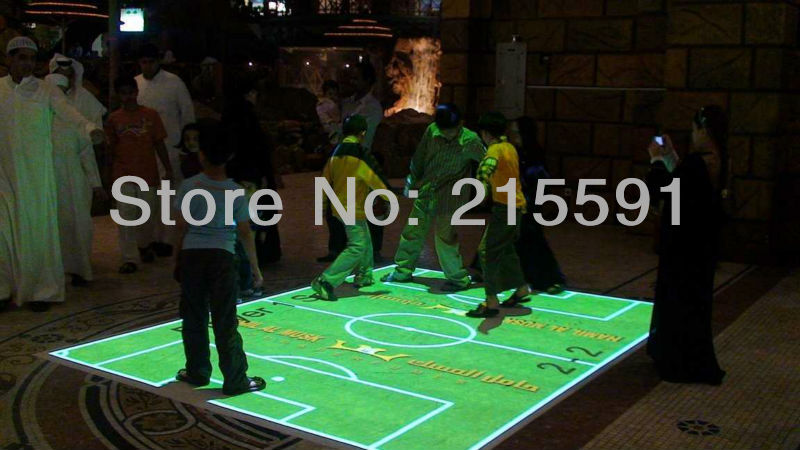 Hot selling interactive projection floor system software for kids games, product advertising free shipping(China (Mainland))
