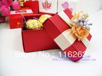 European marriage magenta happiness candies box of creative personality happiness candies box/aluminium platinum