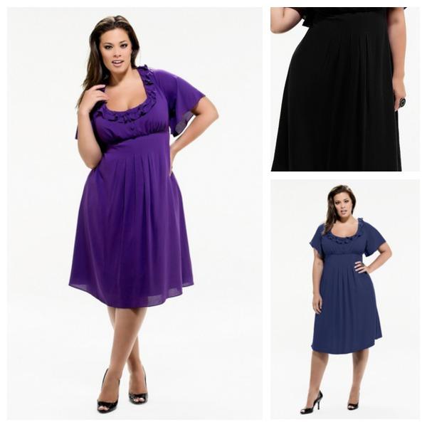Tea Length Plus Size Cocktail Dresses