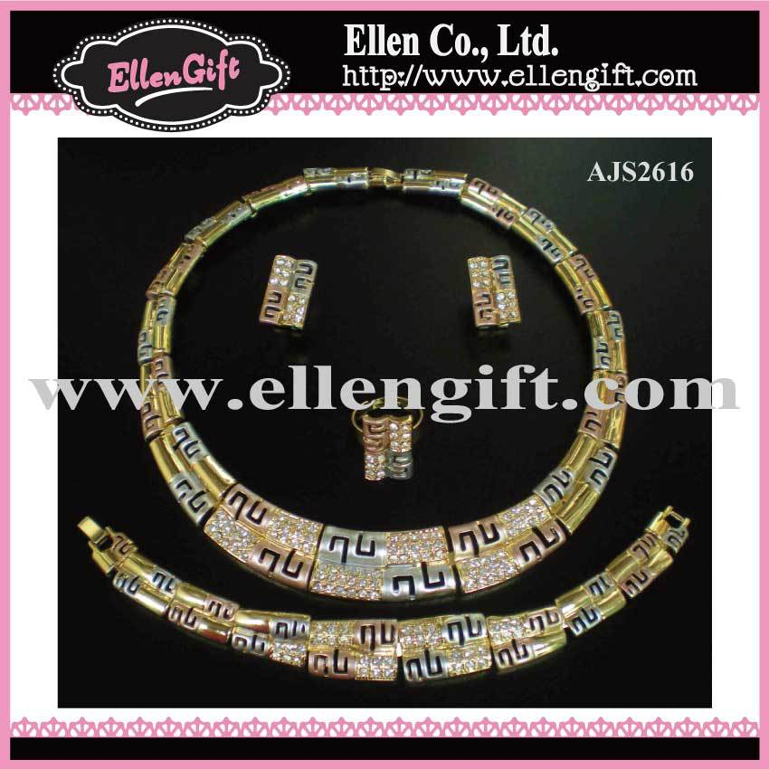 Factory Price+Free Shipping! Costume Jewelry Set AJS2616(China (Mainland))