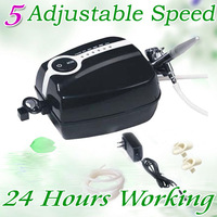Portable Make Up Airbrush System Mini Airbrush Compressor Spray gun tattoos kit 5 Speed FREE SHIPPING