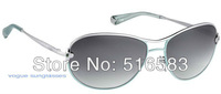 2012 New brand In original box Mimosa Sunglasses  face frame Silver black / gold coffee / gold pink / silver jade for women's