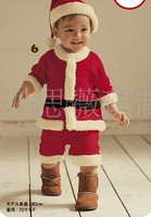 Free shipping china post ! 5sets/lot  Wholesale 2012 Baby rompers autumn clothes baby wear in stock,new born baby clothes32