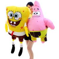 Birthday gift large doll pillow patrick plush toy  100cm