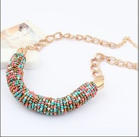 City Girl Min Order 15$ Free Shipping New Arrival Bohemian Style Fashion Variety Of Color Handmade Beads Necklace CG2504