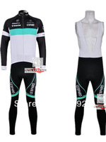 Free Shipping!! New Winter thermal fleece cycling jersey+BIB pants bike sets clothing for 2013 TREK  team