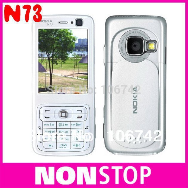 HOT SALE Original Nokia N73 MUSIC edition GSM 3G Bluetooth FM MP3 Unlocked Mobile Phone Free Shipping One In Stock!!!(China (Mainland))
