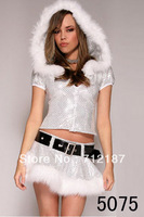 New Arrival Sexy Christmas costume/dress with belt
