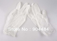 100pcs/lot Rubber Latex Disposable Gloves 100% High Quality Medical / Home Service Antistatic Glove Product Wholesale 415