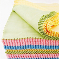 FREE SHIPPING !! multicolor mirror glasses cloth  washing tool bright color usrful things
