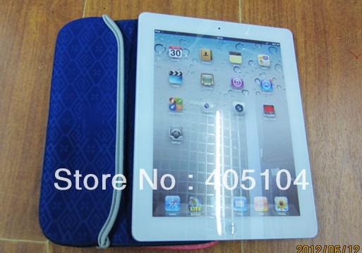 Hot sale! 100pcs/lot 10inch New Sleeve Case for ipad 2 3,for 10inch notebook, Cartoon 10inch soft bag sleeve case(China (Mainland))