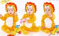 SENSHUKAI style lion romper yellow