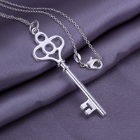 High Quality!Free Shipping 925 Sterling Silver Jewelry.New arrived Jewelry .Lovely Necklace N064