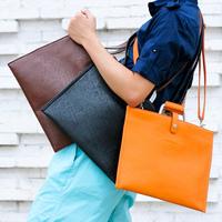 Free shipping high quality 2012 men & women fashion handbag briefcase shoulder cross body messenger bag laptop envelop bag purse