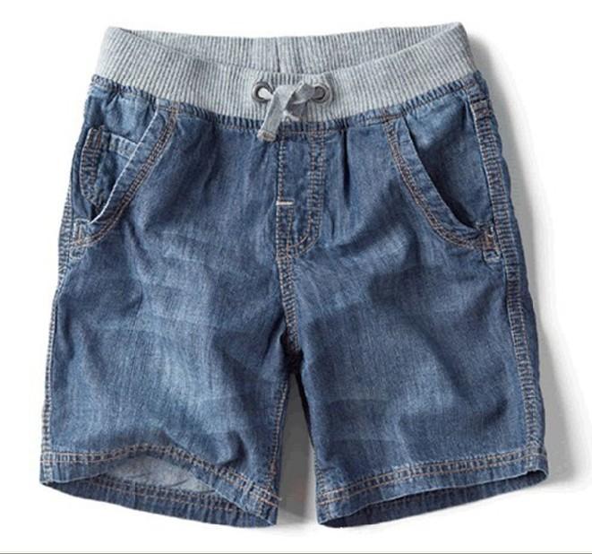 Детские джинсовые шорты для мальчиков своими руками