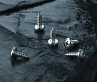 1000pcs/lot DIN7981 St2.2*8 Stainless steel cross recessed (phillips) pan head self tapping screw