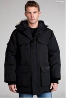 2013 Brand top quality fashion men's canada jackets Bomber winter outdoor clothing down parkas overcoat E01