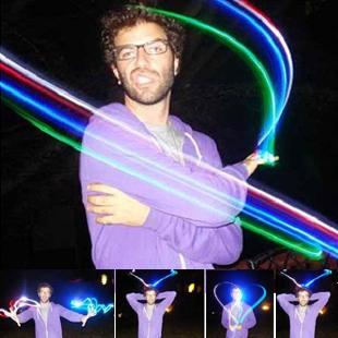 48 laser light multicolour led finger light 0.005