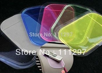 2015 New Power Silica Gel Magic Sticky Spider Anti Slip Car Pad Non-Slip Mat For Mobile Phone Pad PDA Non Slip Mat