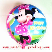 Hot-selling ! MINNIE circle cartoon balloon inflatable balloon