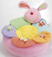 ELC Blossom Farm Sit Me Up Cosy-Baby Seat,Baby Play Mat/Small Baby game pad ,ELC pink rabbit