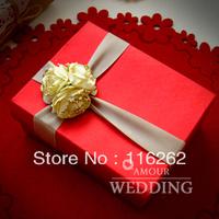 Eternal love Europe type wedding candies box of large size can be put smoke