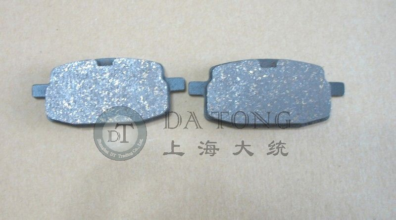 Motorcycle Parts Brake Pads Set For YAMAHA 50 THUMSTAR JUNIOR 110 125 SUPA PRO EXPERT Scooter Spare Parts + Free Shipping(China (Mainland))