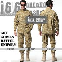 Free shipping ABU Airman Battle Uniform suit sets BDU Military Combat Uniform CS Training Garment sets Shirt + Pants(AU-12034)