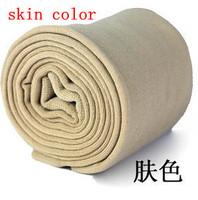 Fashion seamless monolayer bamboo free size inside brushed warm pants skin color Leggings free shipping 1 piece