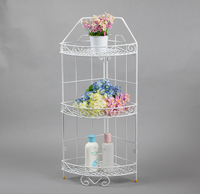 floor storage rack/shower storage caddy/foldable shower caddy