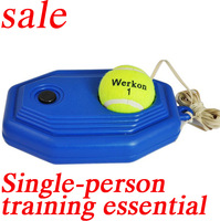 2013 Tennis tennis training base Single Exercise Equipment sparring base Tennis racket  free shipping 54