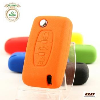 Peugeot citroen bombards c5 silica gel key wallet key protective case