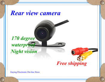 Free shipping new Fashion 170''12V Night Vision Car Rear Camera View Reverse
