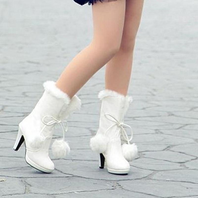 White Winter Boots For Women | Homewood Mountain Ski Resort