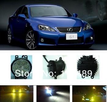 The Lexus ISF LED fog lights daytime running lights high-power high-brightness Lexus ISF hid