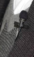 "ME 4  Lavalier Lapel tie clip Microphone For EM 100 SK 100 G2 G3 Wireless bodypack 3.5mm 1/8"" Screw Lock Plug"