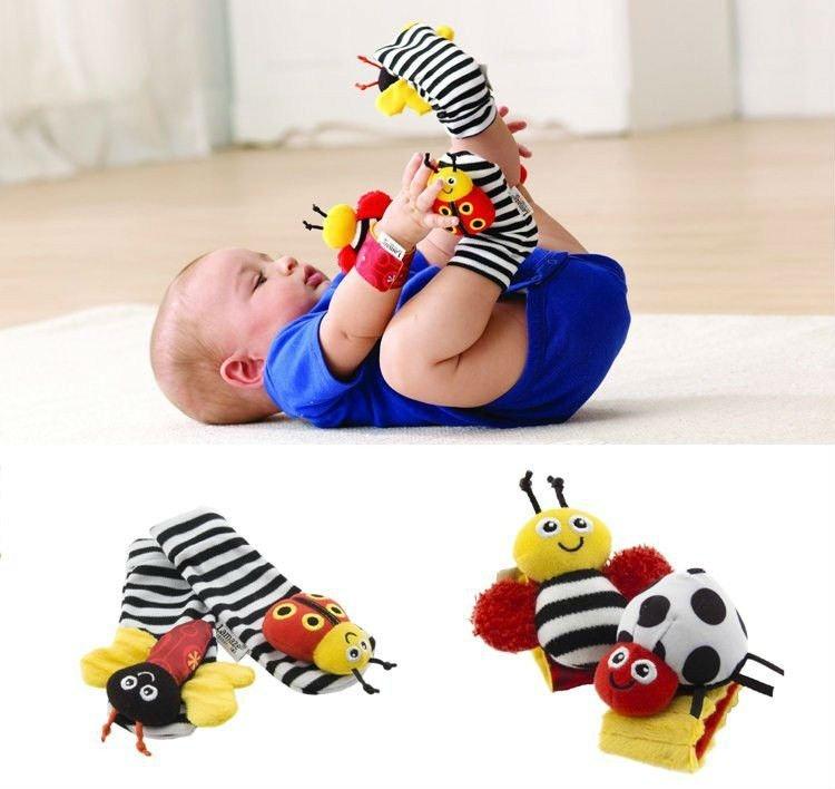 197Развивающие игрушки для ребенка 4 месяцев