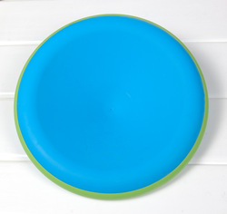 Free Shipping Blue Double layer Plastic Frisbee Disc Dog Frisbee Large Dog Designs Pet Toys(China (Mainland))