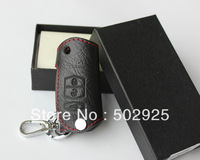 leather auto / car Key case ( key chain / key bag) for remote control, Fit for Mazda CX-5, CX-7, 6, 3 CX 5