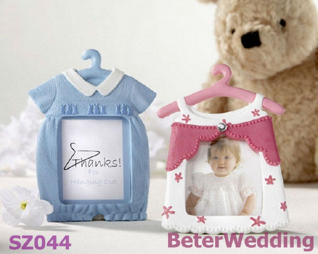 Baby Shower Cute Baby Themed Photo Frame/Place Card Favor SZ044 wedding, event, party, birthday decoration(China (Mainland))