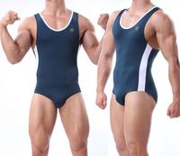 тело строить Мужская сексуальная борьба носить единообразного спортсмен костюм спортивной одежды
