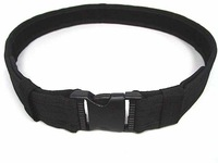 "US Tactical SWAT Combat BDU Airsoft 1.5"" Duty Belt BK free ship"