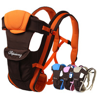 Leather baby suspenders baby carrier hold with multifunctional bags