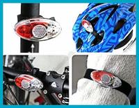 Bicycle Cycling Bike 4 LED Headlight Rear Flashing Caution Warning Tail Light Free Shipping