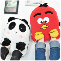 winter plush all-inclusive warm feet treasure electric heating shoes usb charge explosion-proof heating shoes