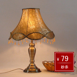Fashion chinese style antique copper lamp bed-lighting dimming
