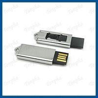 Free shipping  MOQ just 1pc  slide mini gift USB flash drive 8GB