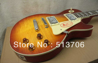 New Arrival Iced Tea Custom VOS Electric Guitar Best Selling OEM Available Free Shipping