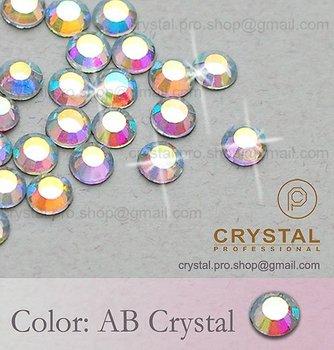 720 pcs 30ss AB Crystal Clear 6mm bulk ss30 glass hot fix iron on design diy Loose bead stone 5 gross FLATBACK hotfix rhinestone
